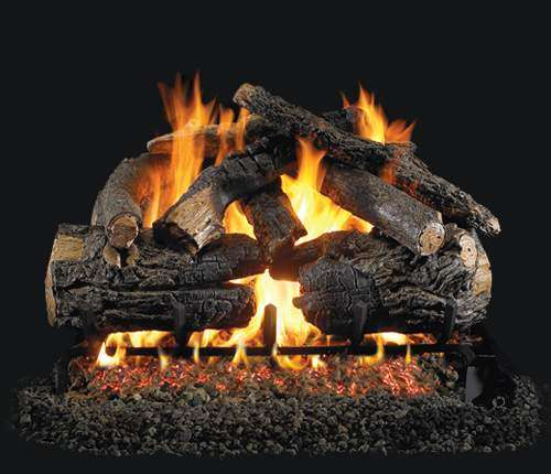 "R.H. Peterson PN-36 Standard 36"" Pioneer Oak. Logs Only (does not include burner). For use in wood burning fireplaces with a compatible vented gas log burner only."