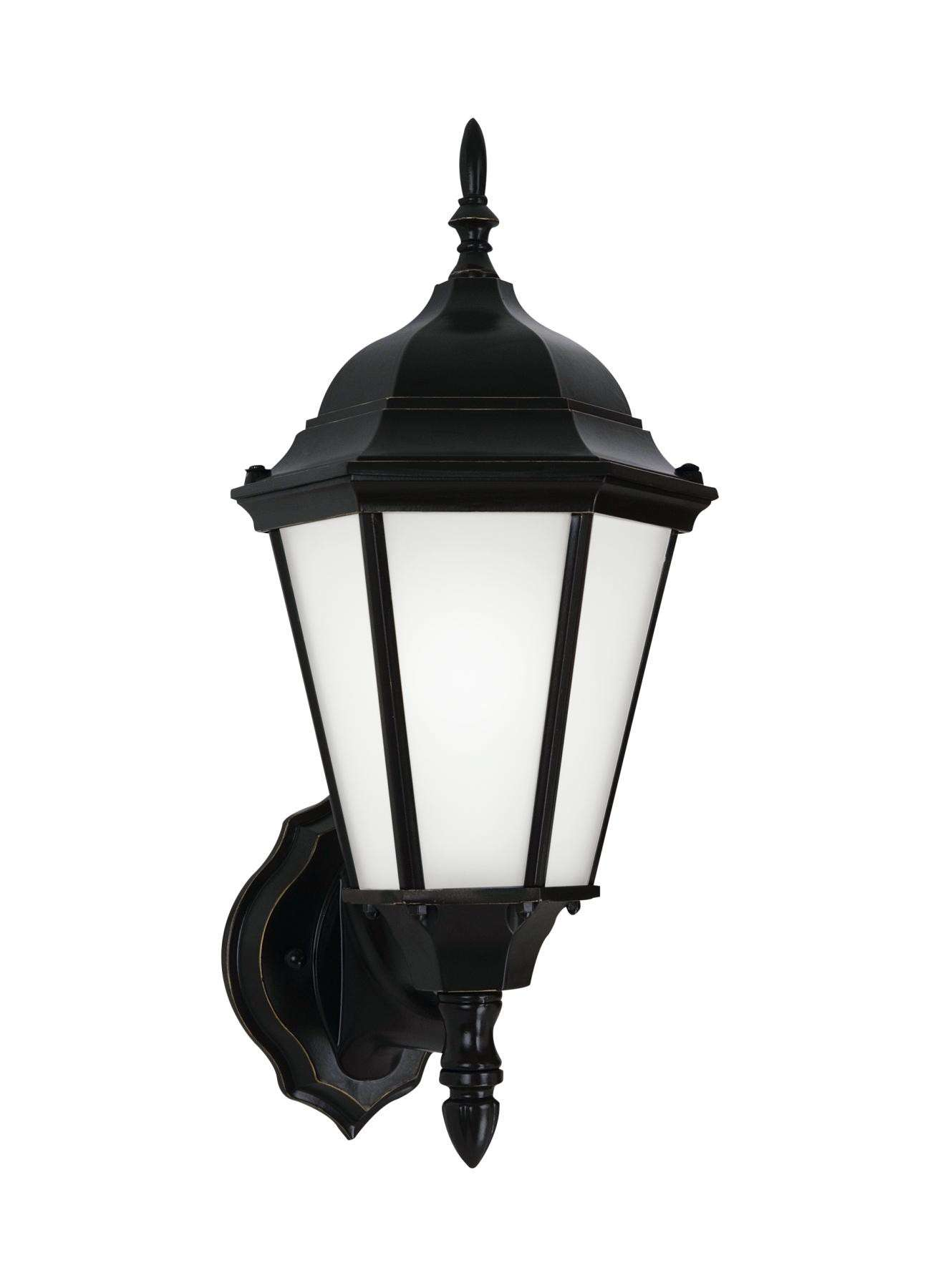 Bakersville - One Light Outdoor Wall Lantern in Black