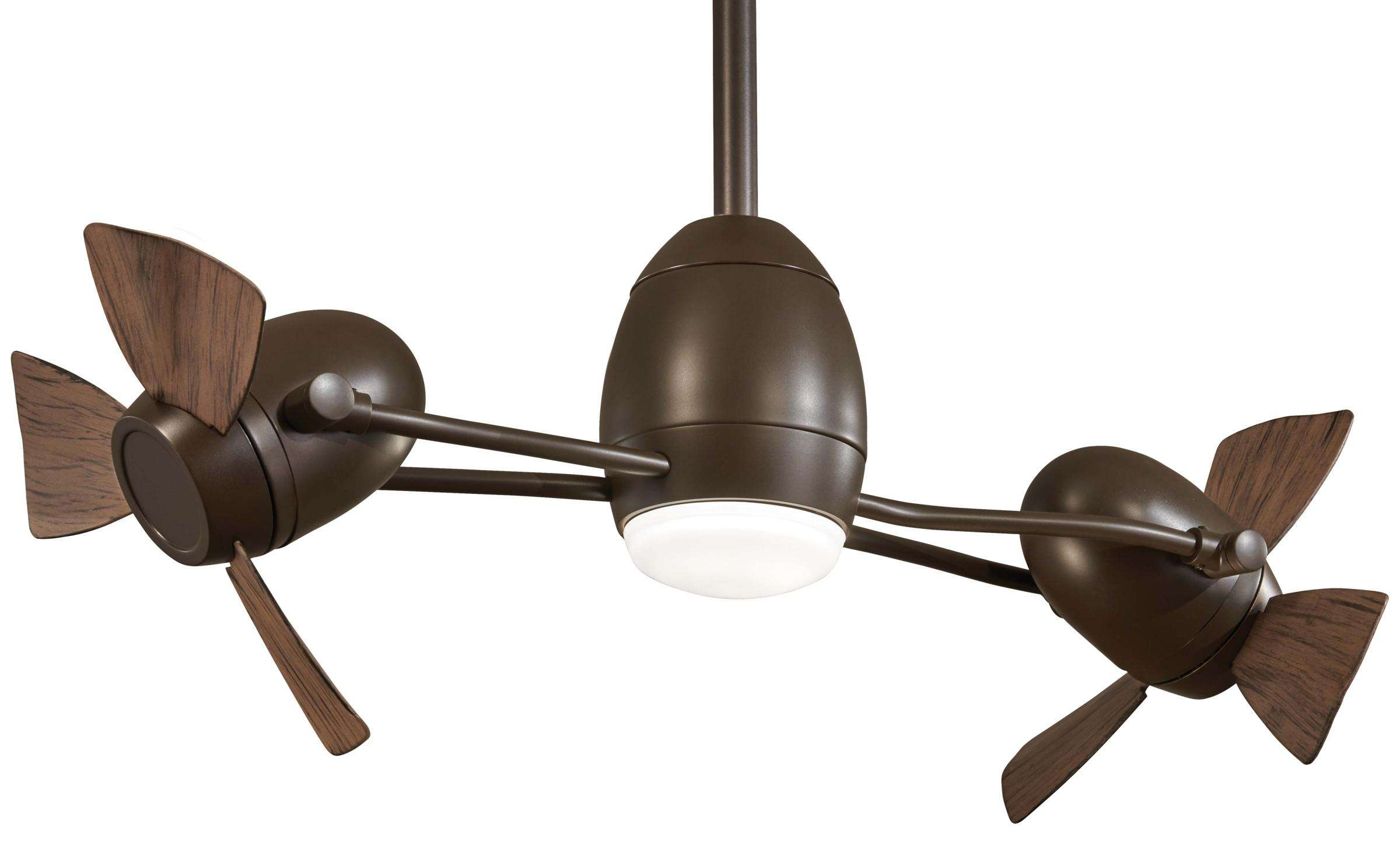 Minka Aire Cage Free Gyro in Oil Rubbed Bronze
