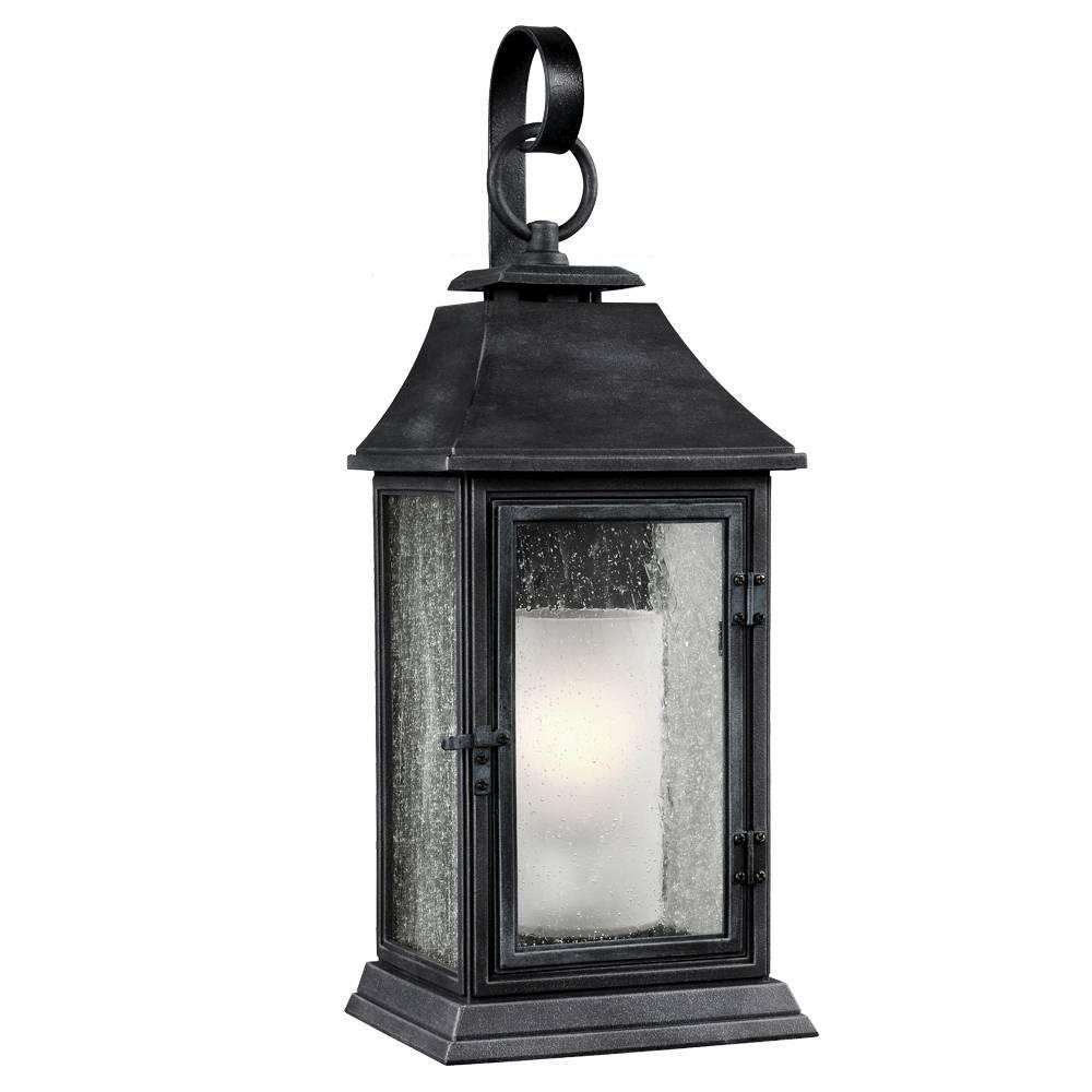 Shepherd 1 - Light Outdoor Sconce in Dark Weathered Zinc
