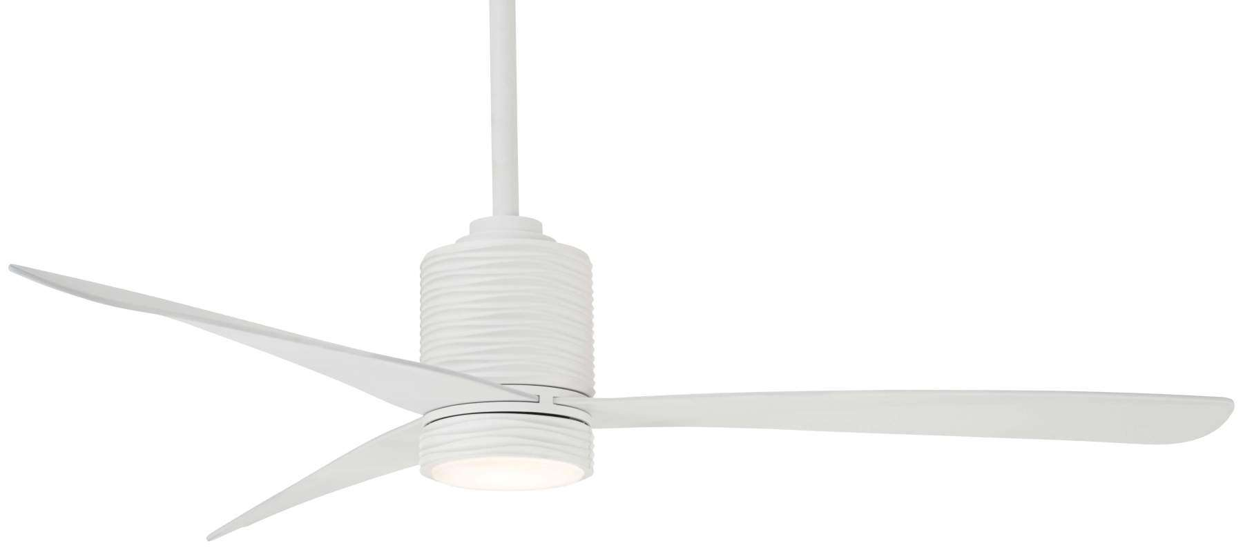 "Mojave 56"" LED Ceiling Fan In Flat White"