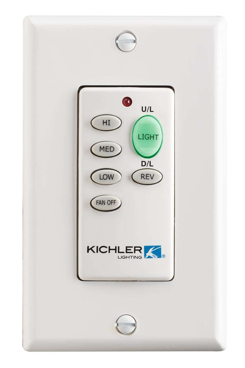 Kichler 370038MULTR Ceiling Fan Full Function Wall Transmitter Only