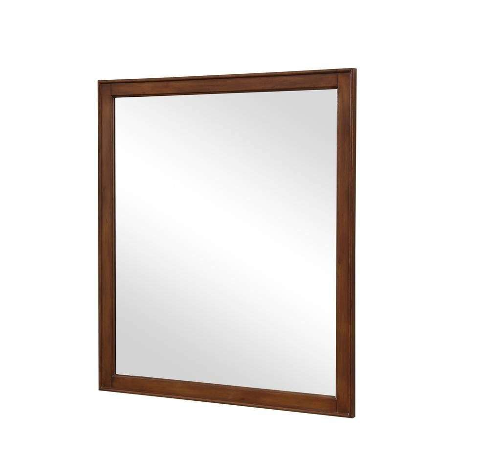 Lexington 32 in. Traditional Mirror in Walnut
