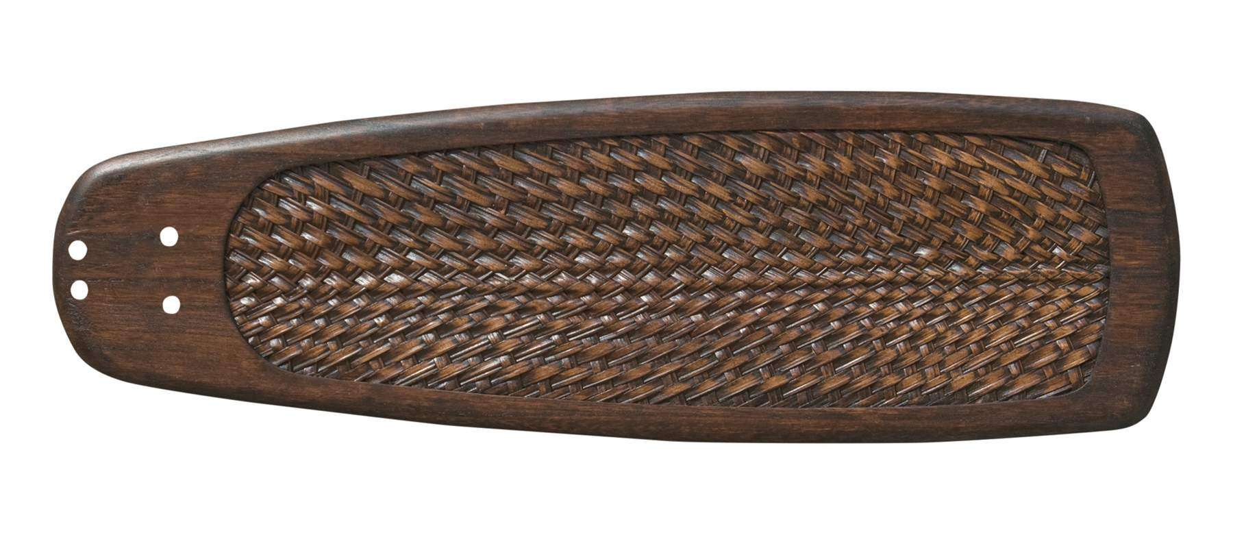 "Blade Select Series 25"" Hand Carved Vintage Walnut Rattan Blades"
