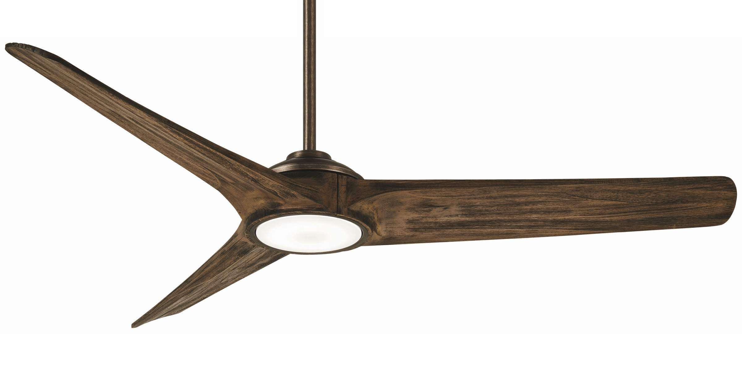 Minka Aire F747L-HBZ/AW 68 Inch Timber Ceiling Fan in Heirloom Bronze