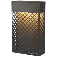 Guild Led Pocket Lantern In Matte Gold