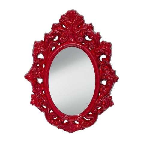 Resplendent Crimson Lacquer-Mirror