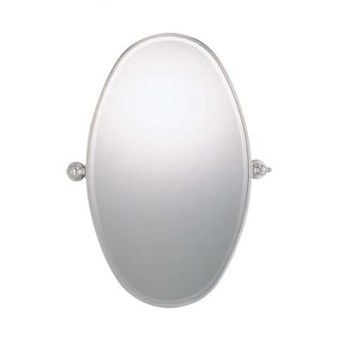 Minka Lavery Lighting 1432-84 Oval Mirror in Chrome finish