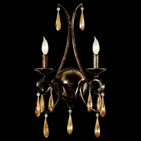 Murray Feiss WB1563GIS Reina Wall Sconce in Gilded Imperial Silver finish