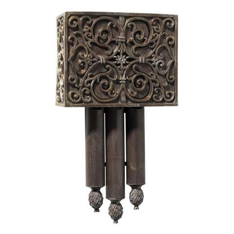 Craftmade Teiber Chimes - Traditional - Carved Westminster (Short) - Renaissance Crackle