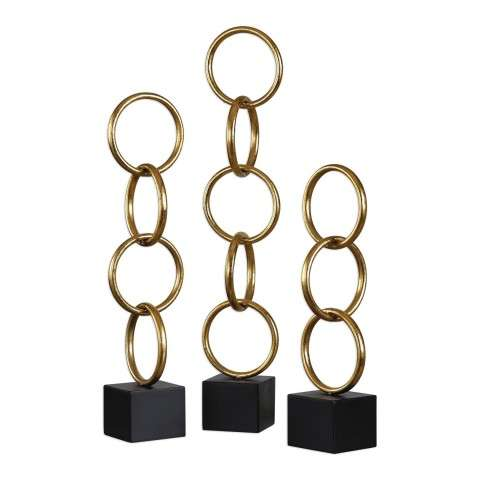 Chane Gold Sculpture S/2