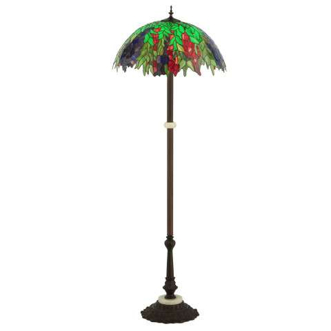 Meyda Tiffany 122380 Honey Locust Floor Lamp