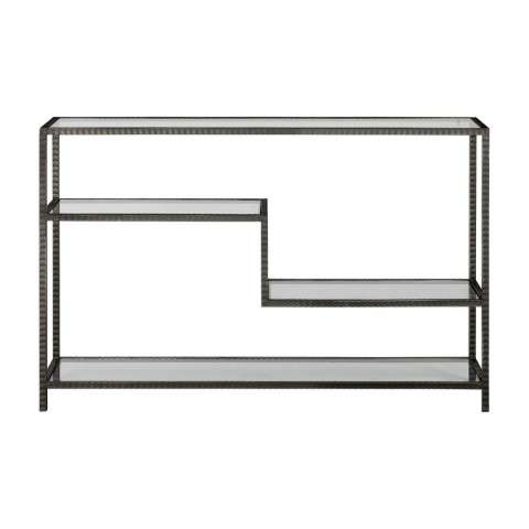 Leo Industrial Console Table