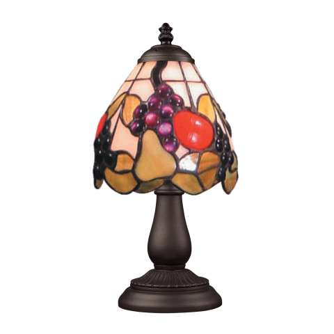 Elk Lighting 080-TB-19 Mix And Match Section Tiffany Bronze Table Lamp