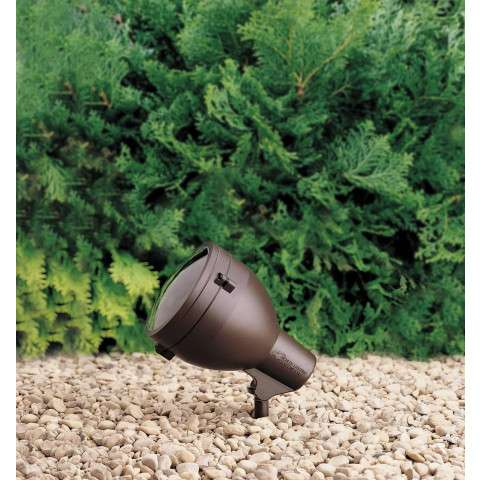 Kichler 15251AZT Accent 1-Lt 120V in Textured Architectural Bronze.