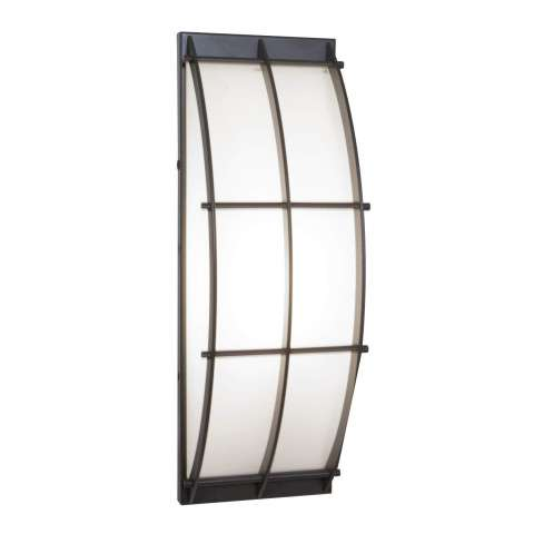 Access Lighting 20373-BRZ/OPL Tyro Wet Location Wall Fixture in Bronze finish with Opal glass