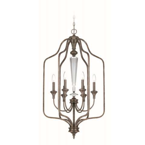Craftmade Exteriors Boulevard - Mocha Bronze 6 Light Foyer in Mocha Bronze