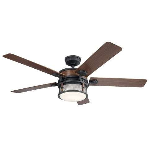310170AUB Kichler Ahrendale 60 Inch Ahrendale Fan in Auburn Stained Finish