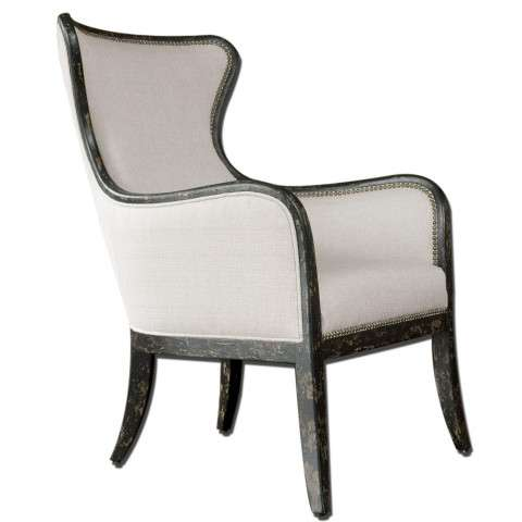 Uttermost 23073 Sandy - Wing Chair