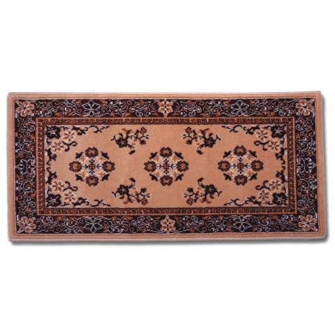 Oriental Hearth Rug - Large Rectangular - Beige