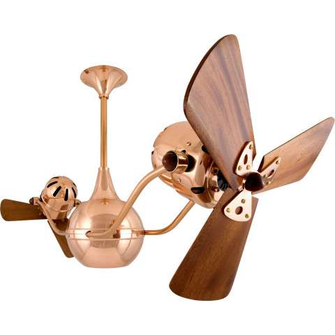 Matthews Vent-Bettina Wood in Polished Copper