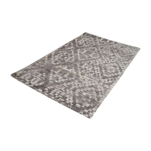 Darcie Handtufted Wool Distressed Printed Rug - 3ft x 5ft