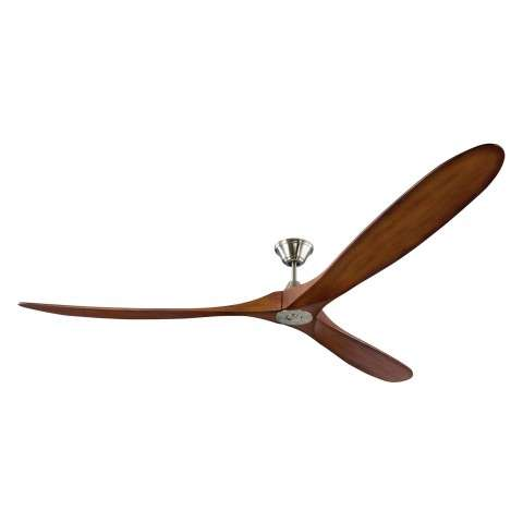 Monte Carlo Maverick Super Max 88 Ceiling Fan Model 3MAVR88BSKOA in Brushed Steel