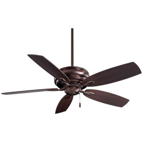 "Minka Aire 54"" Timeless in Dark Brushed Bronze"