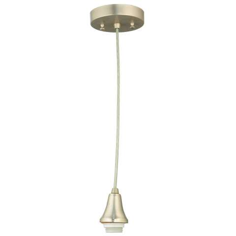 Meyda Tiffany 111247 Canopy W/Wire Hanger Cone Cap in Brushed Nickel finish
