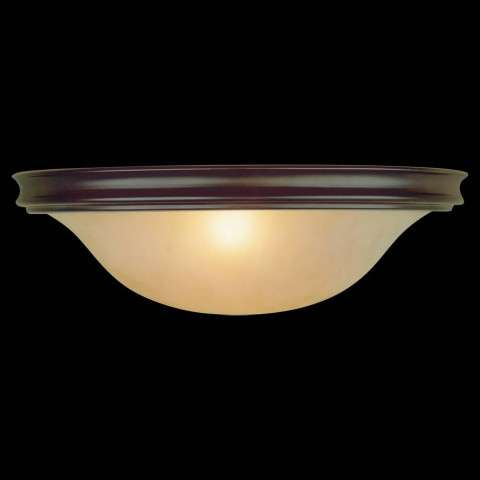 Murray Feiss WB1248ORB Pub Wall Bracket in Oil Rubbed Bronze finish with Frost amber glass shade
