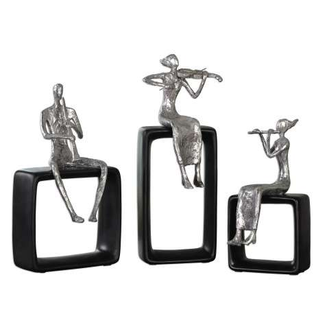 Uttermost Musical Ensemble Statues - S/3