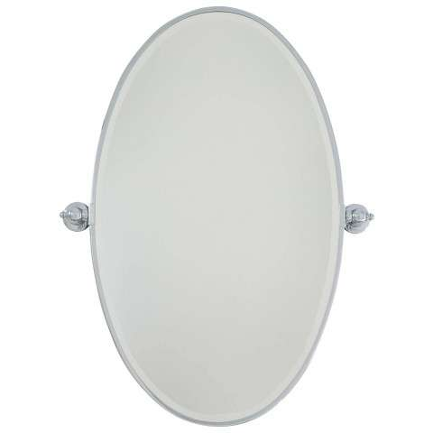 Minka Lavery Lighting 1432-77 Oval Mirror in Undefined finish