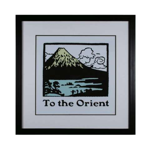 Sterling Furnishings 10065-S1 Travel To The Orient