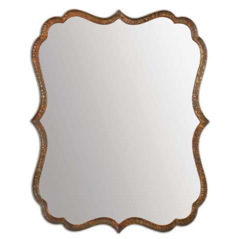 Uttermost Spadola Copper Mirror