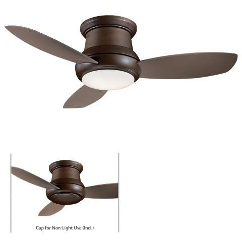 "Minka Aire 52"" Concept II LED Indoor Only in Oil Rubbed Bronze"