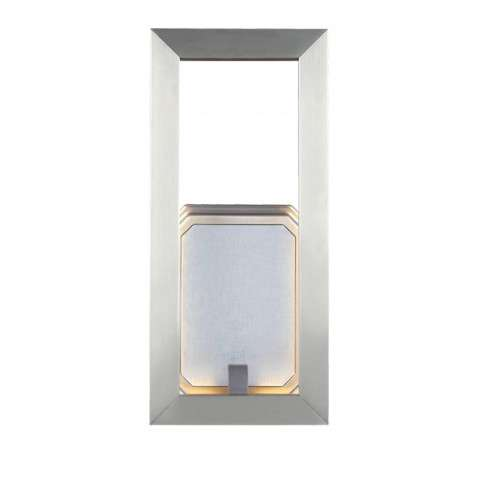 "Khloe 12"" LED Wall Sconce in Satin Nickel"