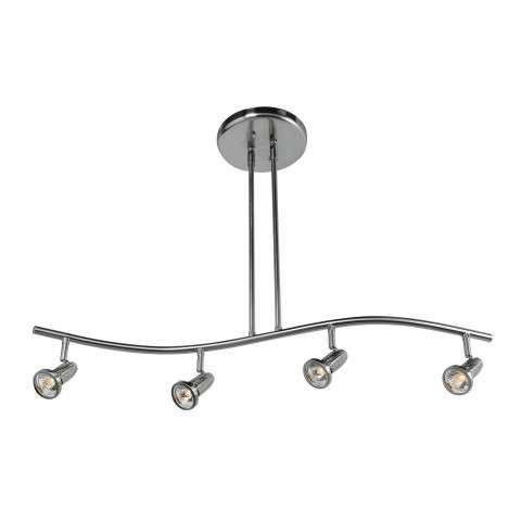 Access Lighting 52206-BS CobraSpotlight Pendantin Brushed Steel finish