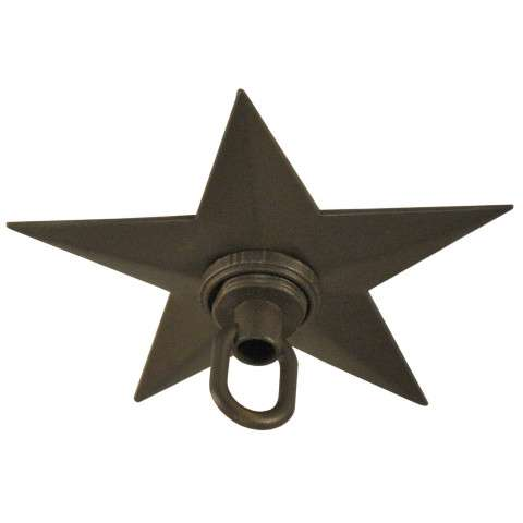 "4.75"" W Texas Star Canopy. Custom Crafted In Yorkville - New York Please Allow 30 Days"