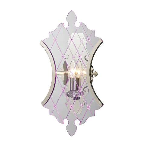 Radelle Collection 1 light/LED sconce in Polished Nickel
