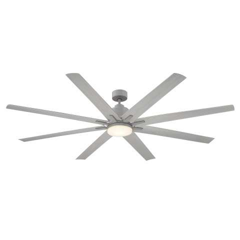 "Savoy House 72-5045-8GR-GR Bluffton 72"" 8 Blade Ceiling Fan in Grey Wood"