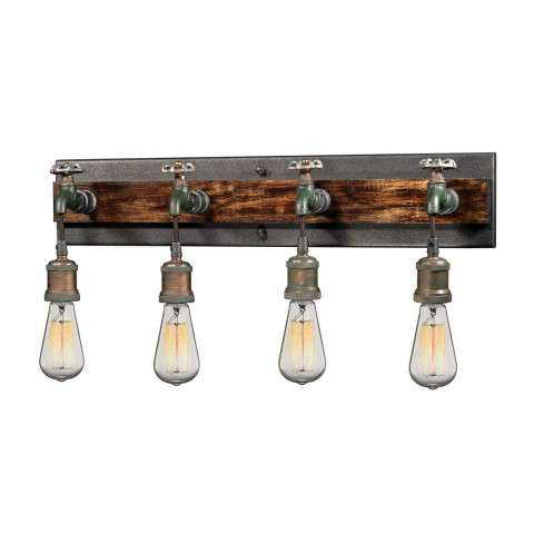 Jonas 4 Light Wall Bracket In Multi-tone Weathered