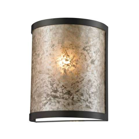 Mica 1 Light Sconce In Oil Rubbed Bronze