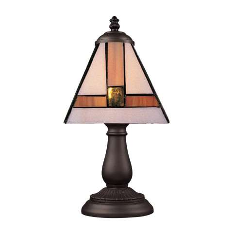 Elk Lighting 080-TB-01 Mix And Match Section Tiffany Bronze Table Lamp