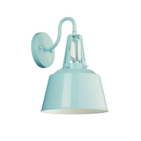 Freemont 1 Bulb Hi Gloss Blue Wall Sconce