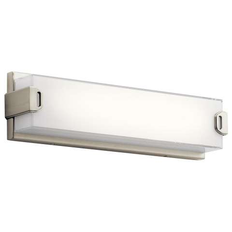 "Xeo LED 18"" Vanity in NI - Brushed Nickel"