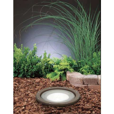 Kichler 15263AZ In-Ground 1-Lt 120V in Architectural Bronze.