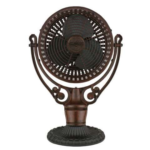 Fanimation Old Havana Desk Mount in Rust