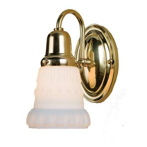 Meyda Tiffany 36635 Saratoga Embossed Wall Sconce in Polished Brass finish