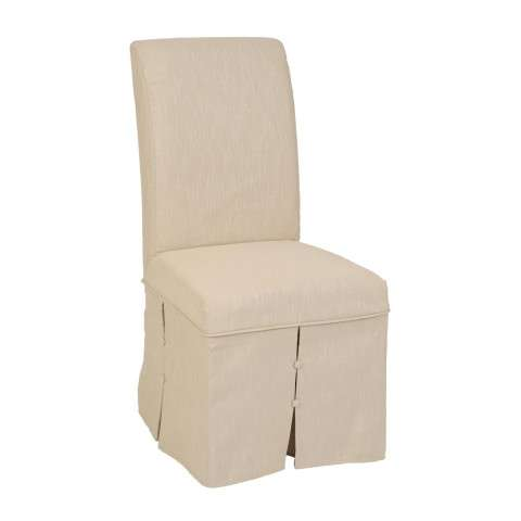 IMAP Lotus/Camel Parsons Chair Skirted Cover