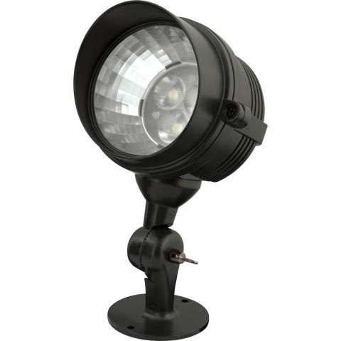 Progress P5299-31 Progress LED One-light landscape in Black finish.